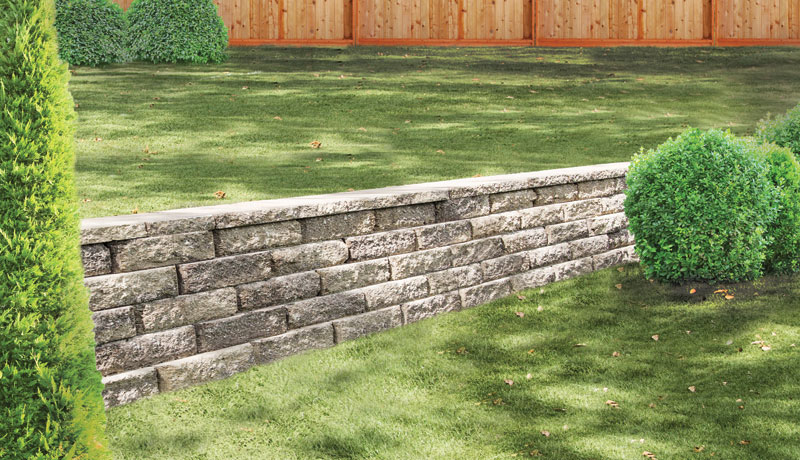 Retaining And Freestanding Wall Systems Pavestone Creating Beautiful Landscapes