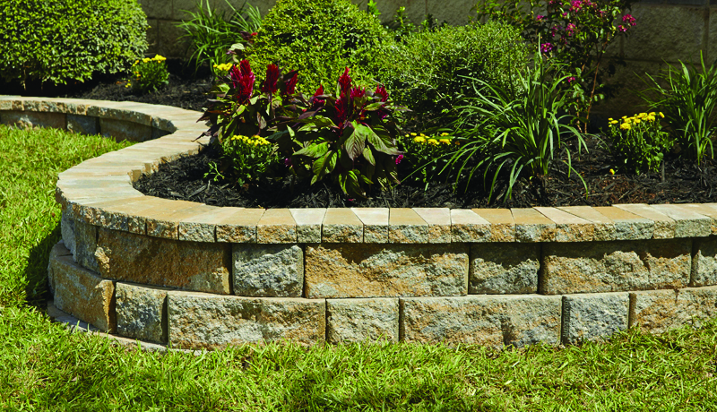 rock wall landscaping flagstone rockwall large pavestone creating beautiful landscapes